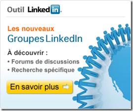 Les groupes LinkedIn maintenant ouverts sur le web