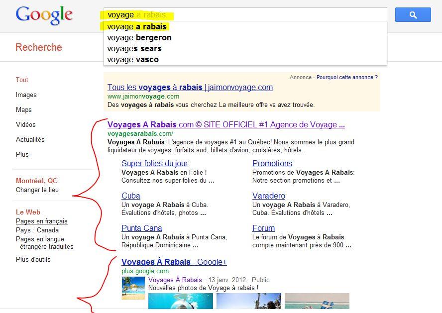 Google plus et recherche: trop de changements?