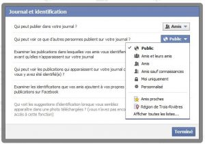 Test de publication Facebook (et vidéo)