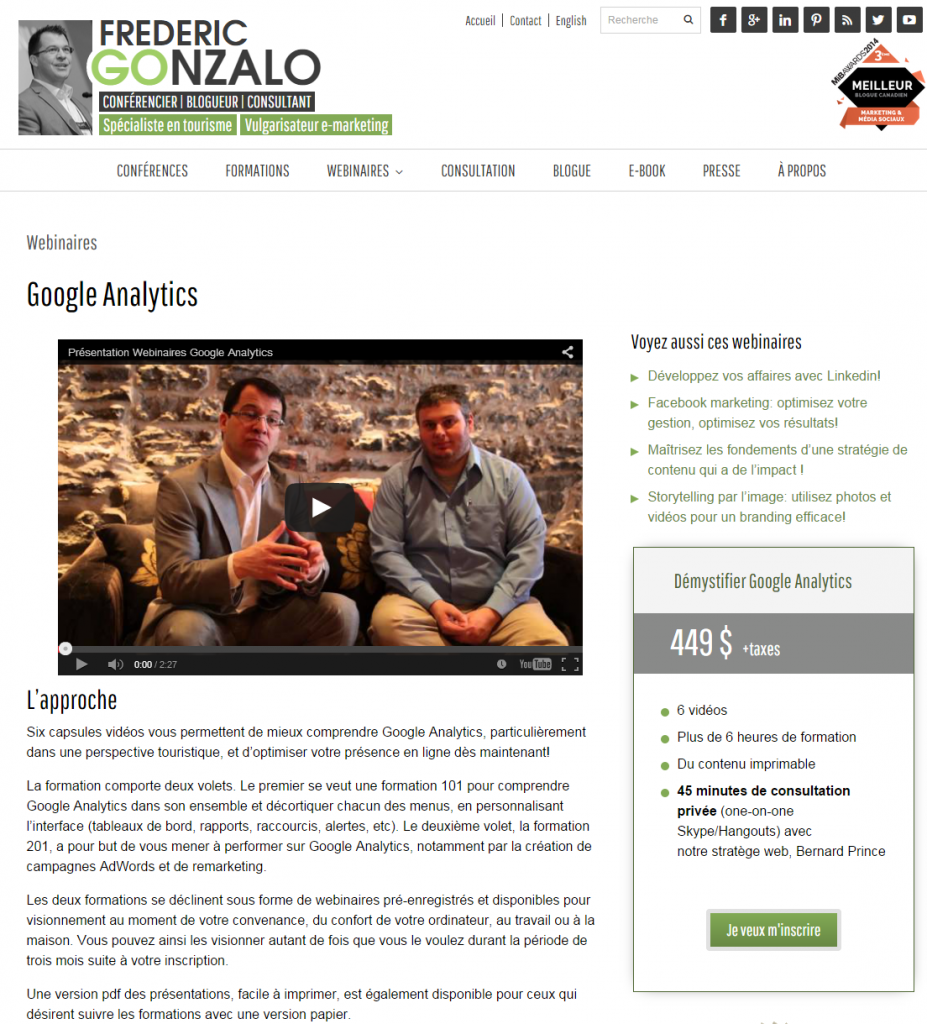 webinaire google analytics