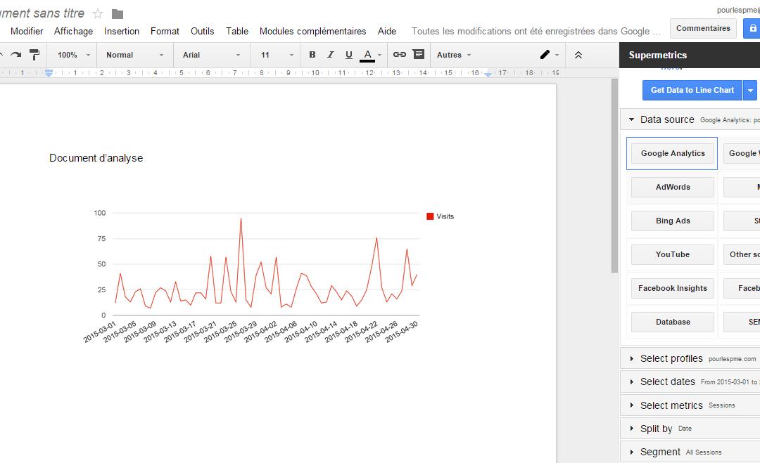 Comment importer ses données web dans un tableur Excel