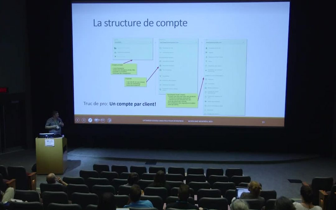 Optimiser Google Analytics pour WordPress – WordCamp MTL 2015