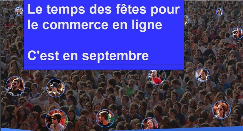 Le temps des fêtes commence en septembre pour le e-commerce